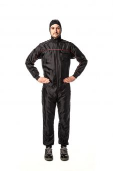 AirMaster PRO Overall Lackieroverall - Schwarz